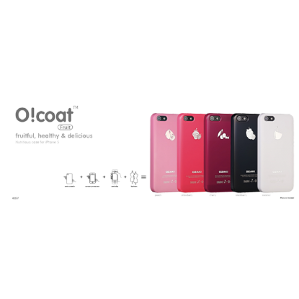 Ozaki, iPhone 5/5s, OCoat Fruit case Watermelon, Rot