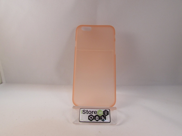 iPhone 6 cover slim 3mm iCays.at Edition orange
