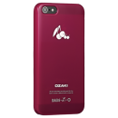 Ozaki, iPhone 5/5s, OCoat Fruit case Cherry, Rot