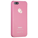 Ozaki, iPhone 5/5s, OCoat Fruit case Peach, Pink